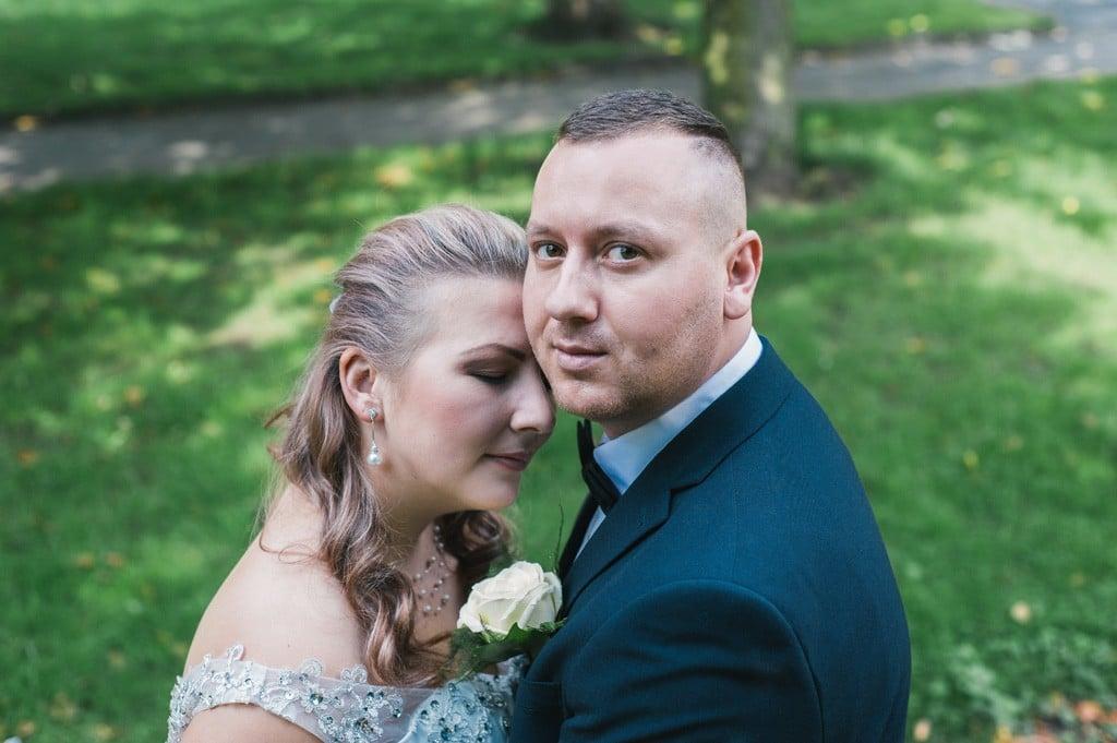 Fotograf ślubny Anglia para młoda