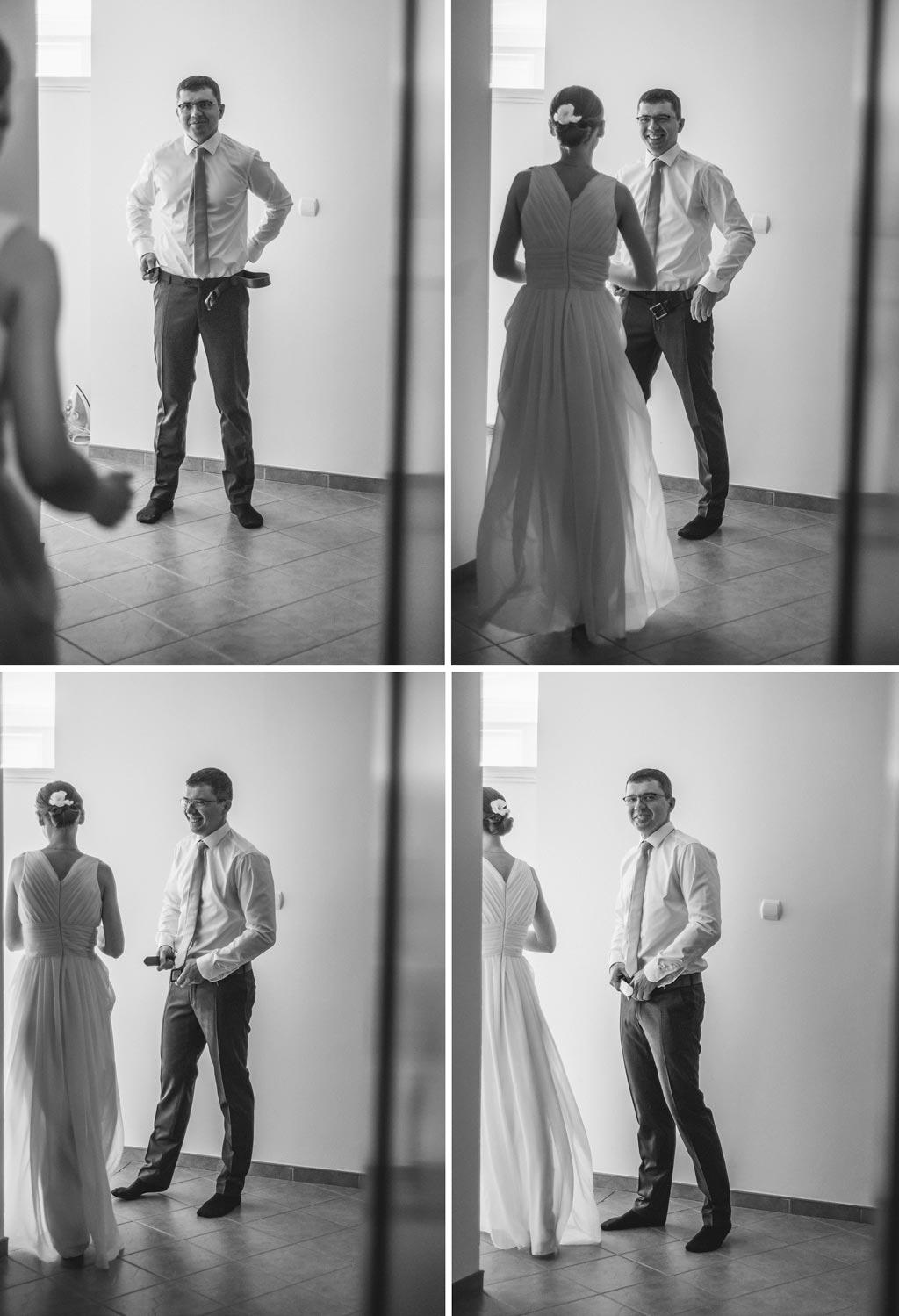 Fotograf ślubny Człuchów - przygotowania