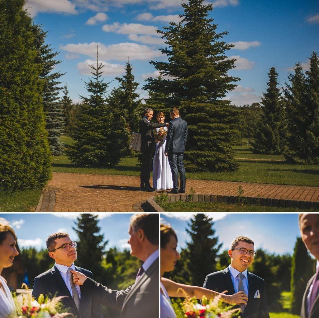 Fotograf ślubny hotel Diadem koło Chojnic