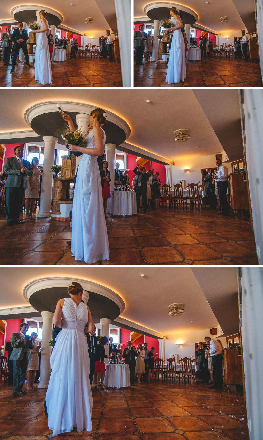 Powitanie Pary Młodej w hotelu Diadem w Jerzmionkach koło Chojnic