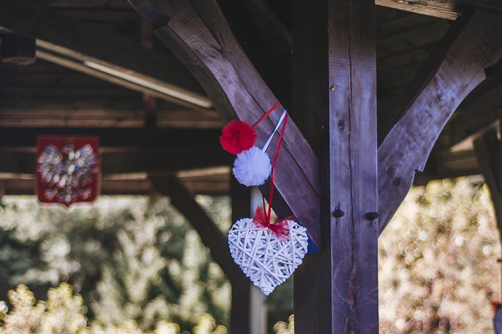 Hotel Diadem w Jerzmionkach dekoracje ślubne