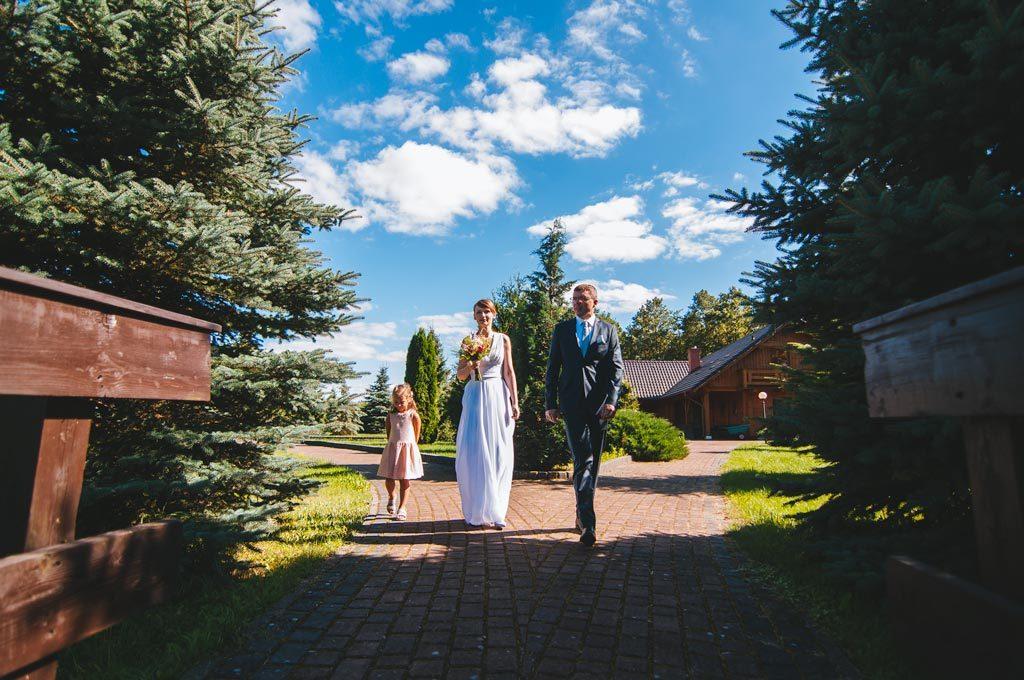Hotel Diadem Jerzmionki koło Chojnic fotograf ślubny
