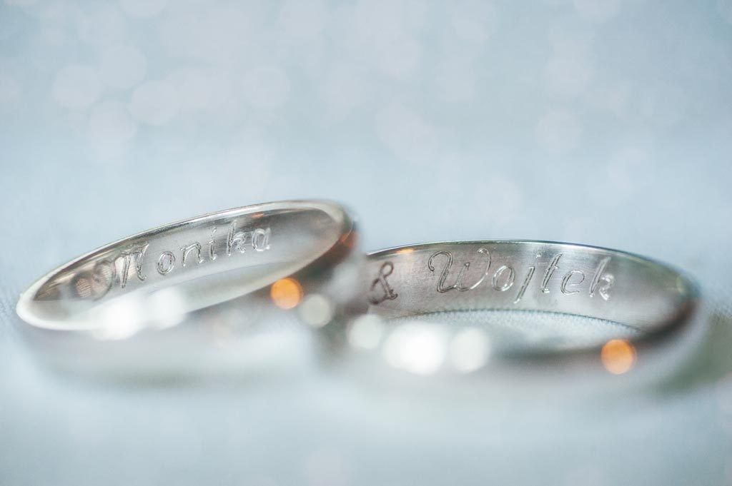Obrączki ślubne Chojnice - Monika i Wojtek