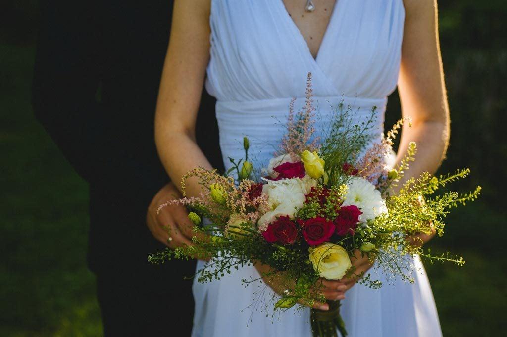 Para Młoda detale ślubne