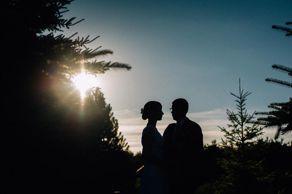 Para Młoda - sesja ślubna o zachodzie słońca Chojnice