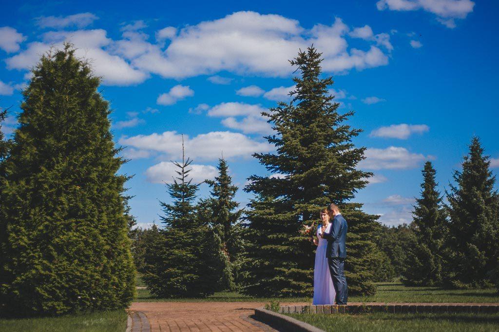 Ślub cywilny w plenerze Chojnice
