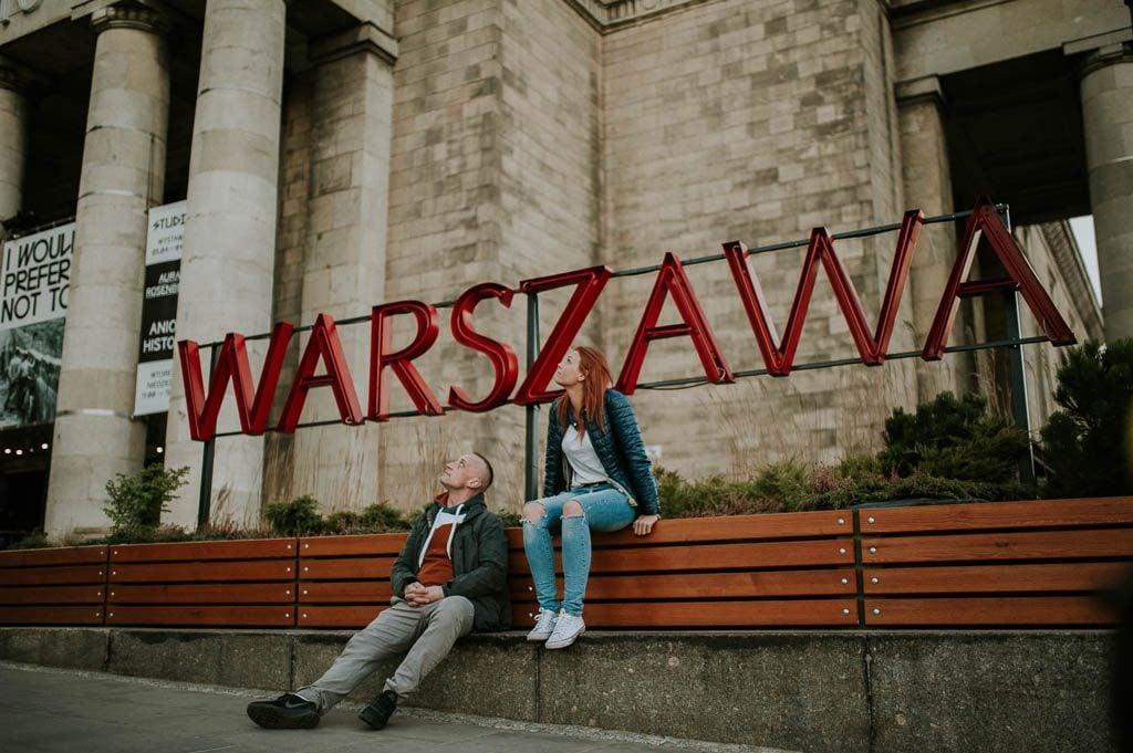 Sesja zaręczynowa Warszawa