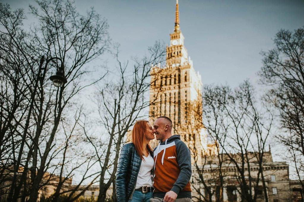 sesja zareczynowa Warszawa