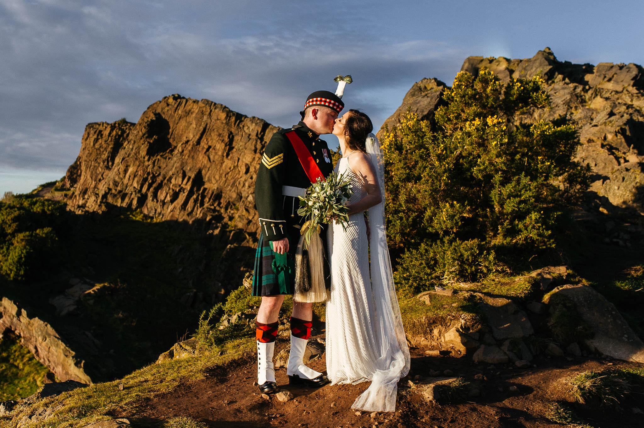 Fotografia ślubna w Edynburgu