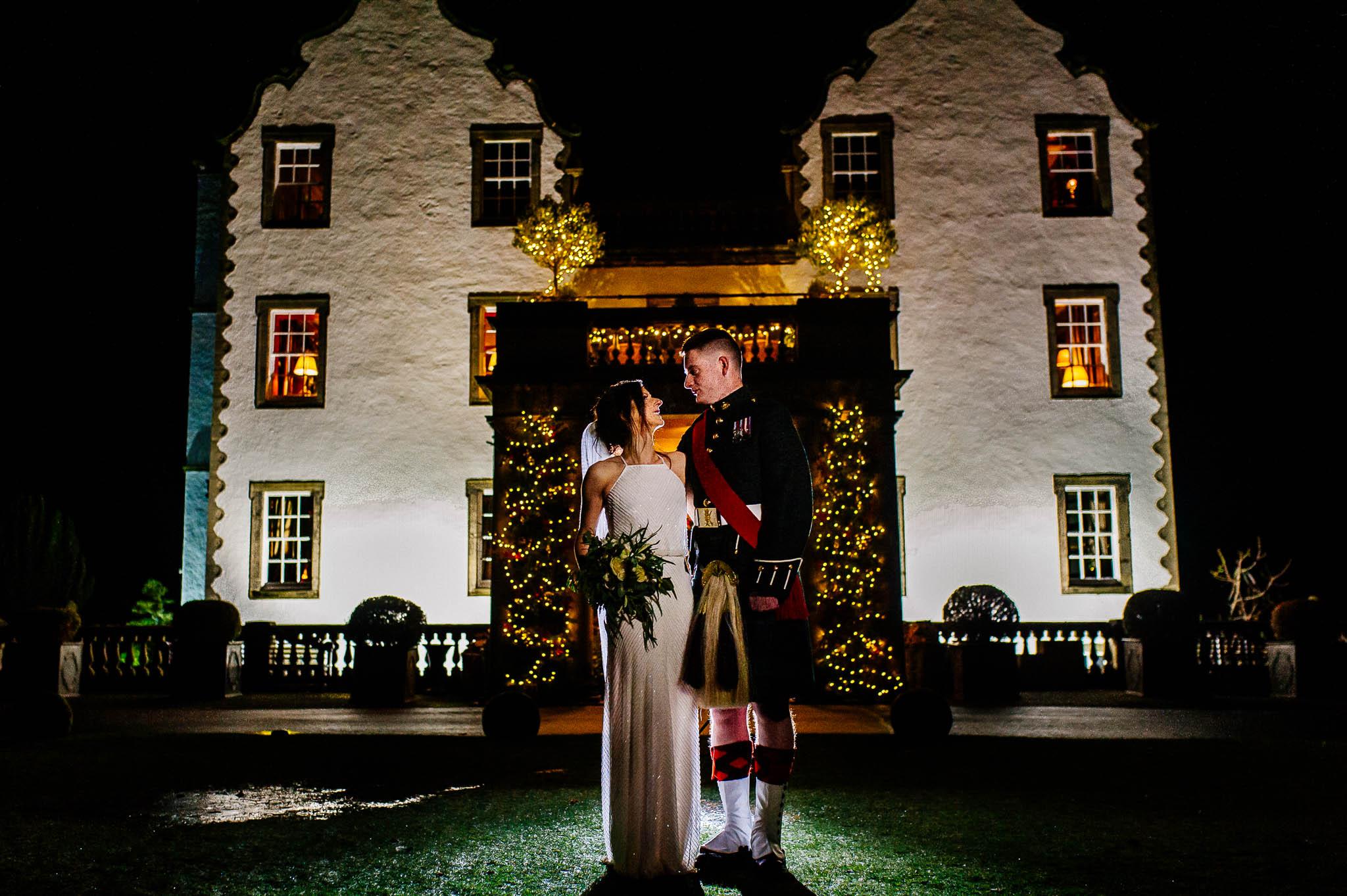 Para młoda w Szkocji