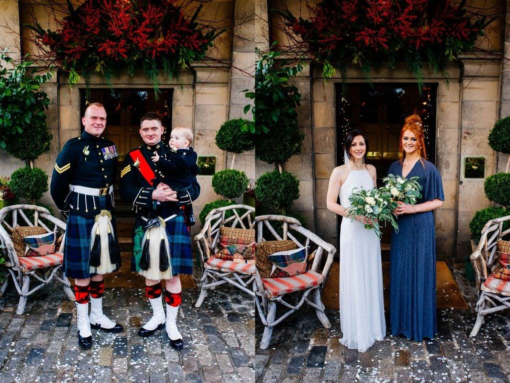 Zdjęcia grupowe po ślubie