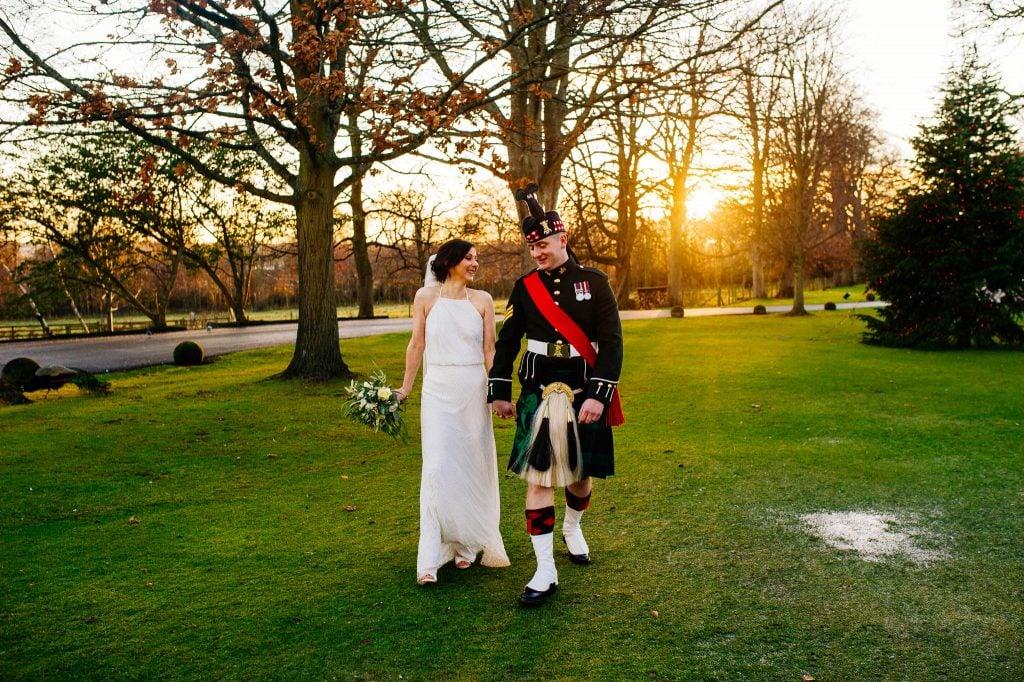 Plenerowe zdjęcia ślubne w Edynburgu