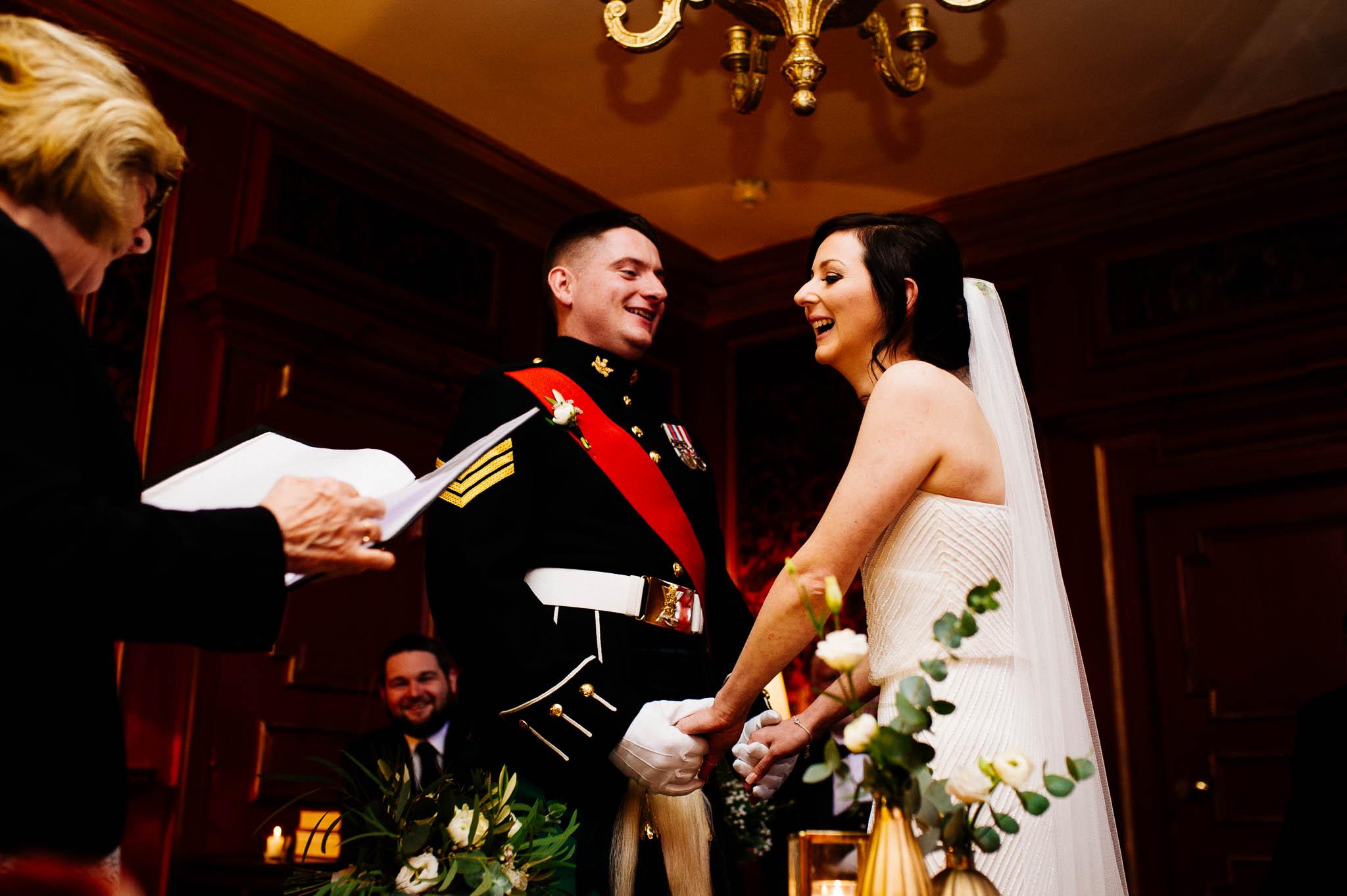 Ceremonia ślubna w Szkocji