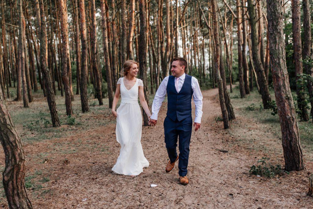 Seaja ślubna w Parku Reagana w Gdańsku