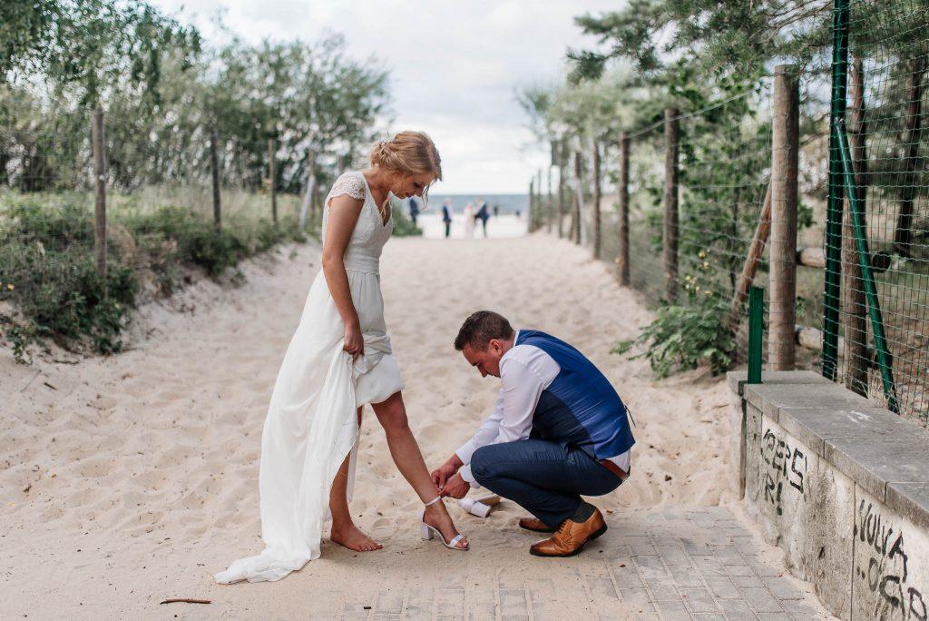 Ślubna sesja plenerowa w Trójmieście