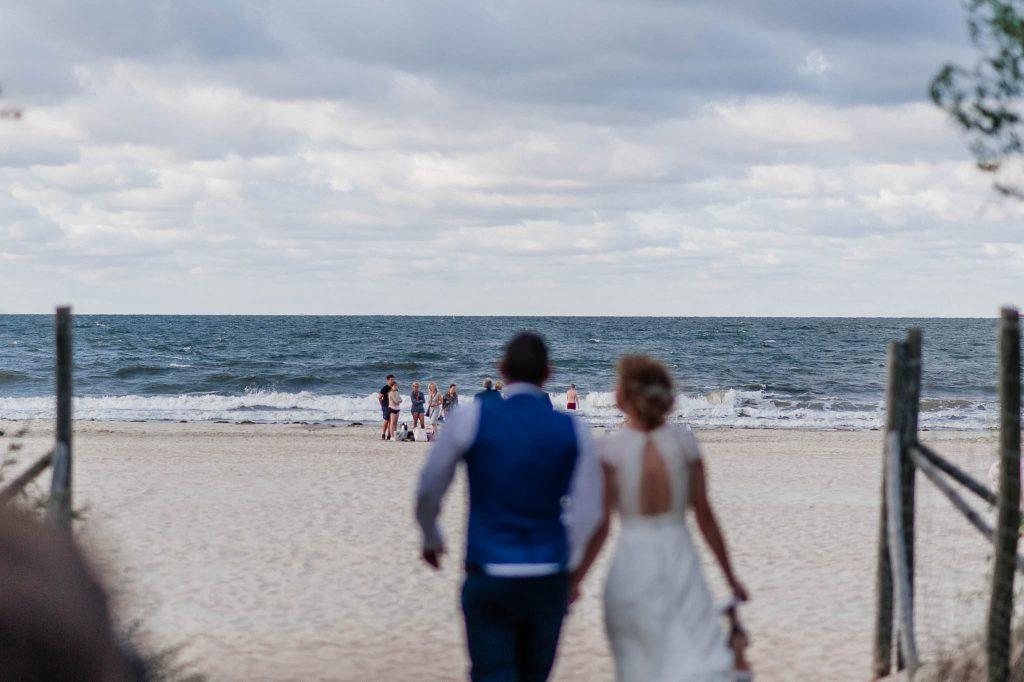 Plener ślubny nad morzem w Trójmieście