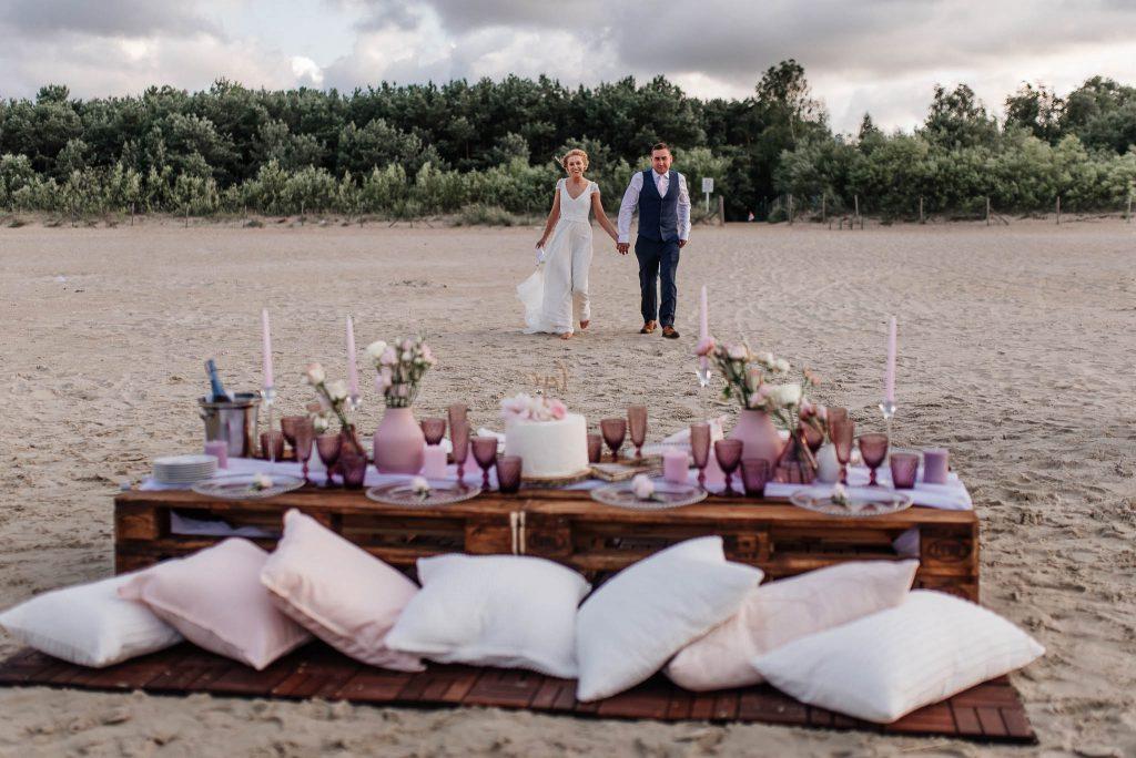 Ślub na plaży w Gdańsku