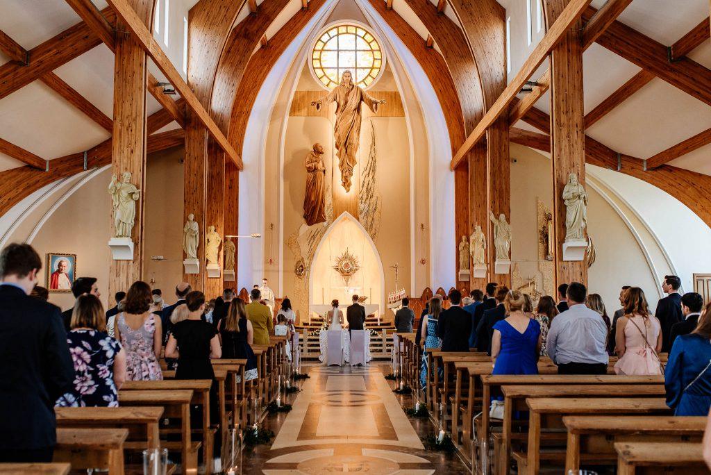 Ślub w parafii pw. św. Ojca Pio w Gdańsku