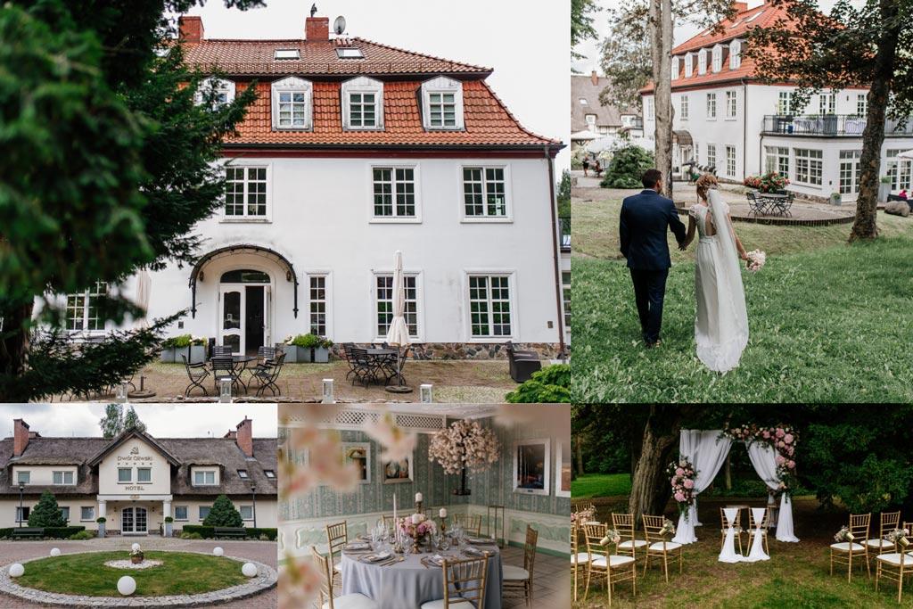 Dwór Oliwski - sale weselne Gdańsk