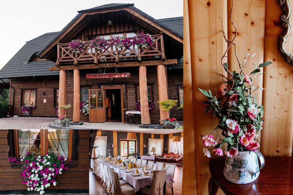 Karczma Sidło sala weselna w Żukowie koło Gdańska