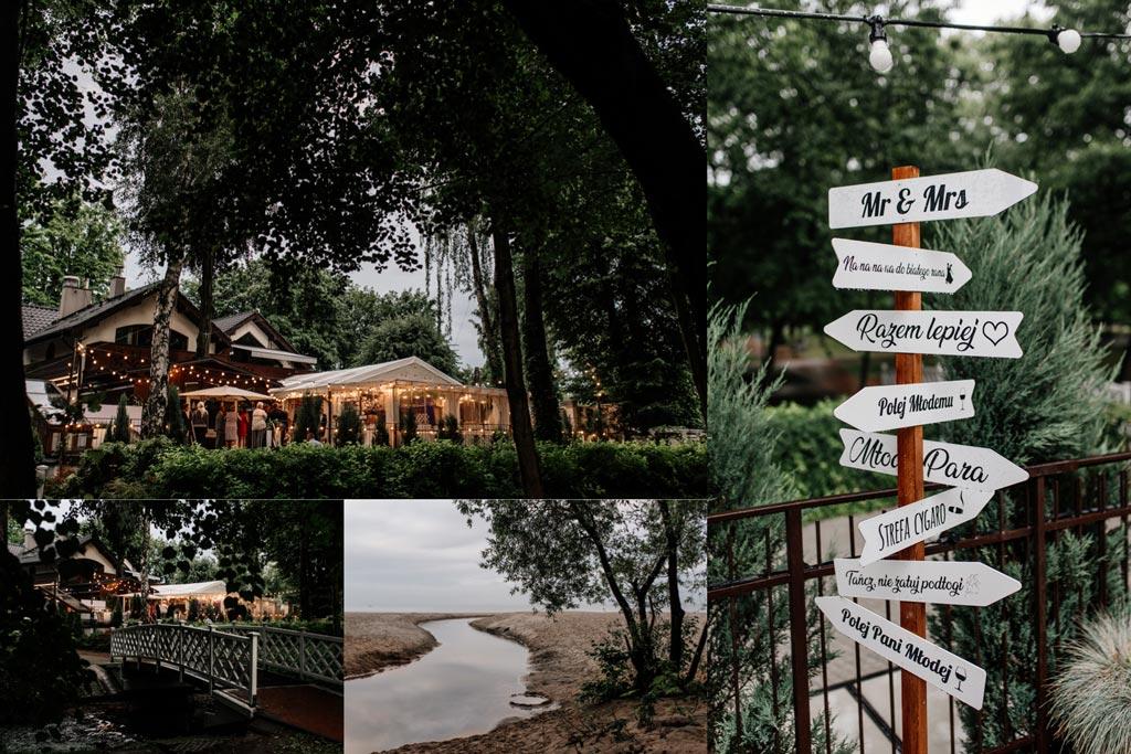 Sala weselna Restauracna Nad potokiem w Jelitkowie w Gdańsku