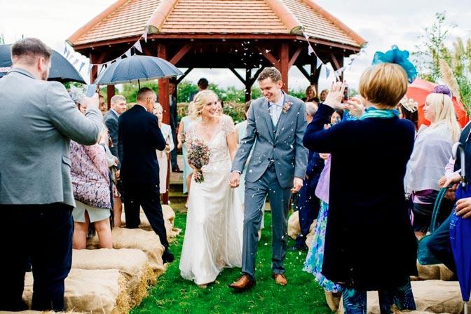 Ślub w plenerze w Anglii