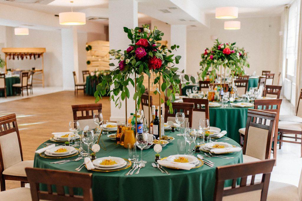 Sala weselna w Villa Leśne Ustronie