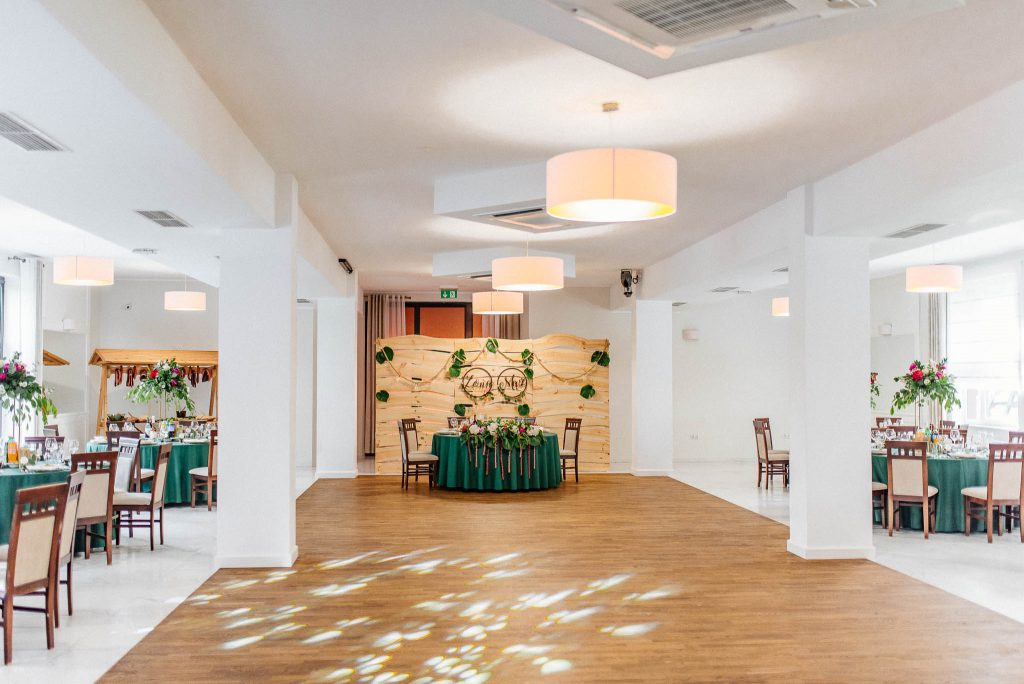 Villa Leśne Ustronie, sala weselna