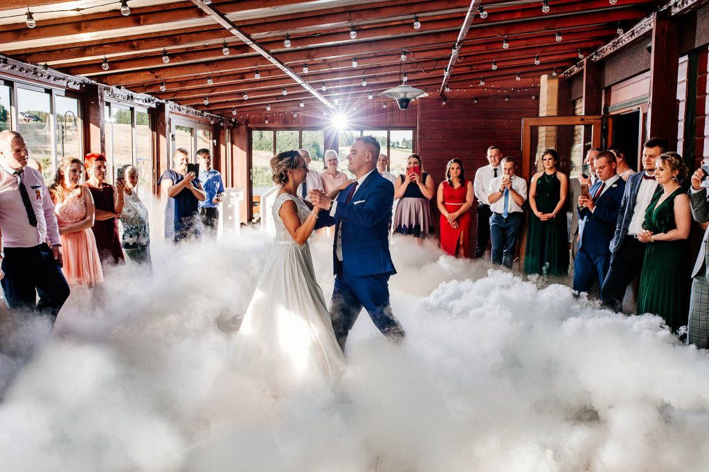 Pierwszy taniec na weselu w Wodny Świat Ostryce.